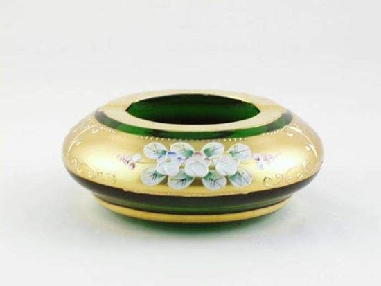 Picture of egermann ashtray green H.E