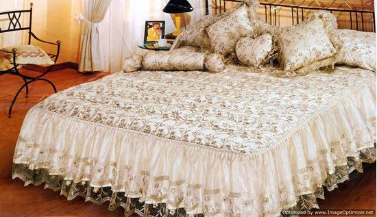 Picture of مفرش سرير كنار ثلاثة أطراف