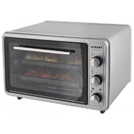 صورة ELectrical oven silver 40L 1300W SARAY