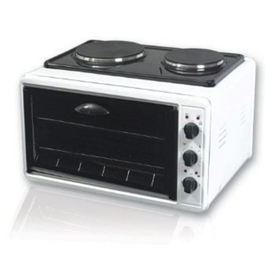 Picture of ELectrical oven 38L 1300 W +2*1000W Hotplaes SARAY